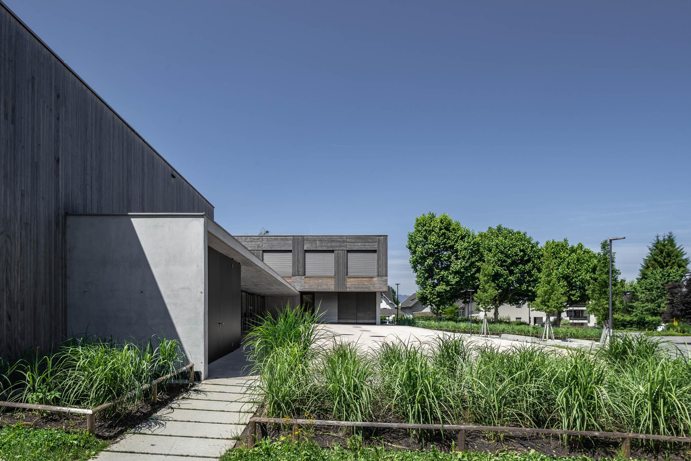Architekturfotografie Volksschule Edlach
