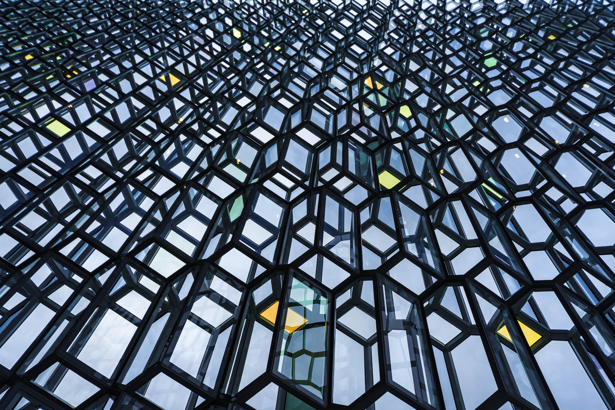 Architekturfotografie Reykjavik Konzerthaus Harpa