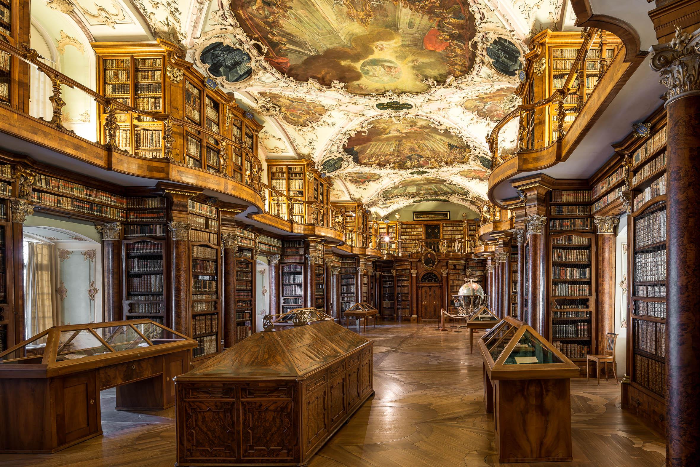 Architekturfotografie Stiftskirche Sankt Gallen