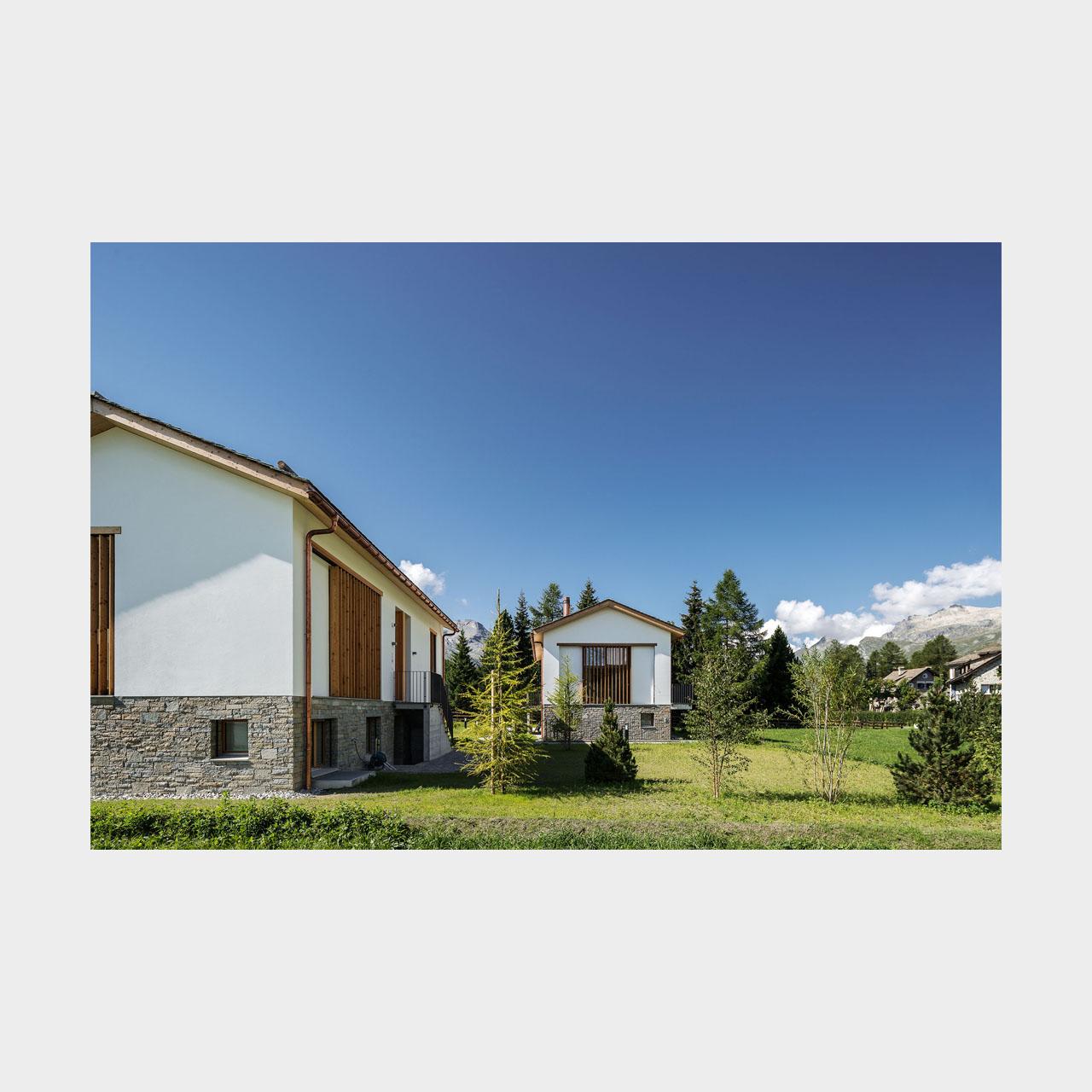 Architekturfotografie Chalet S Sils