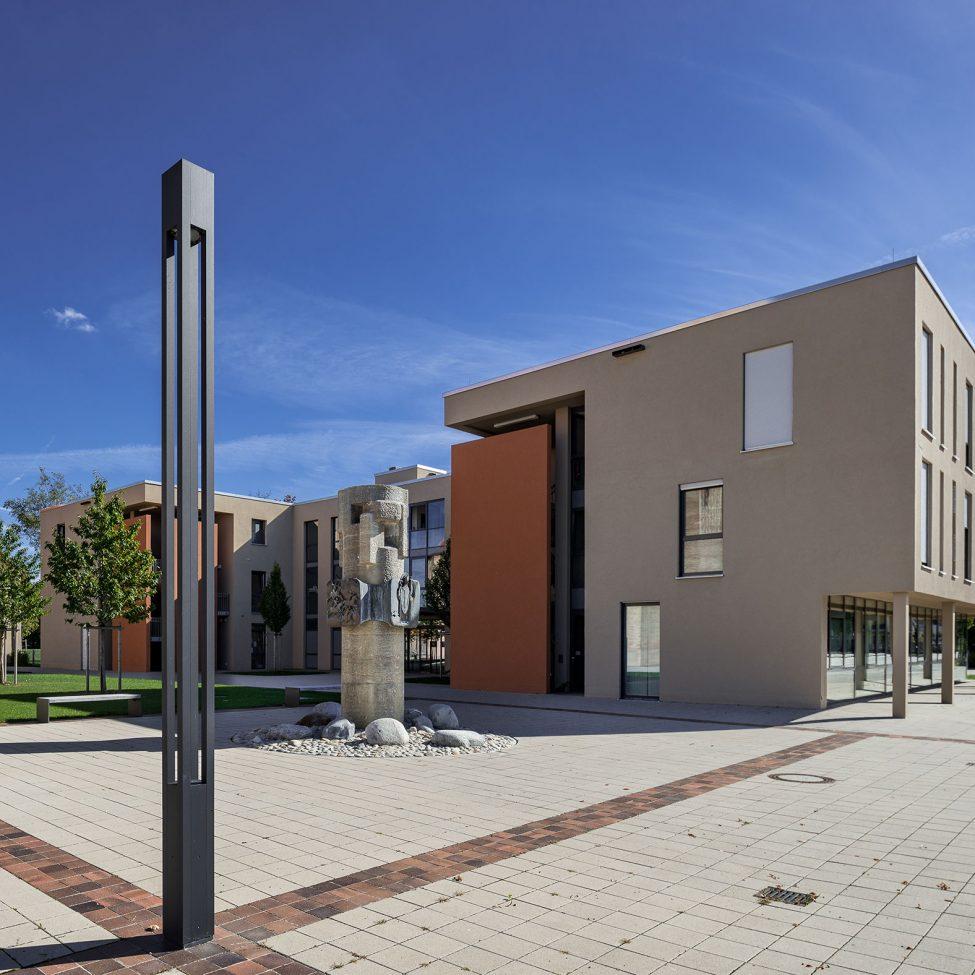 Architekturfotografie Sozialzentrum Königsbrunn