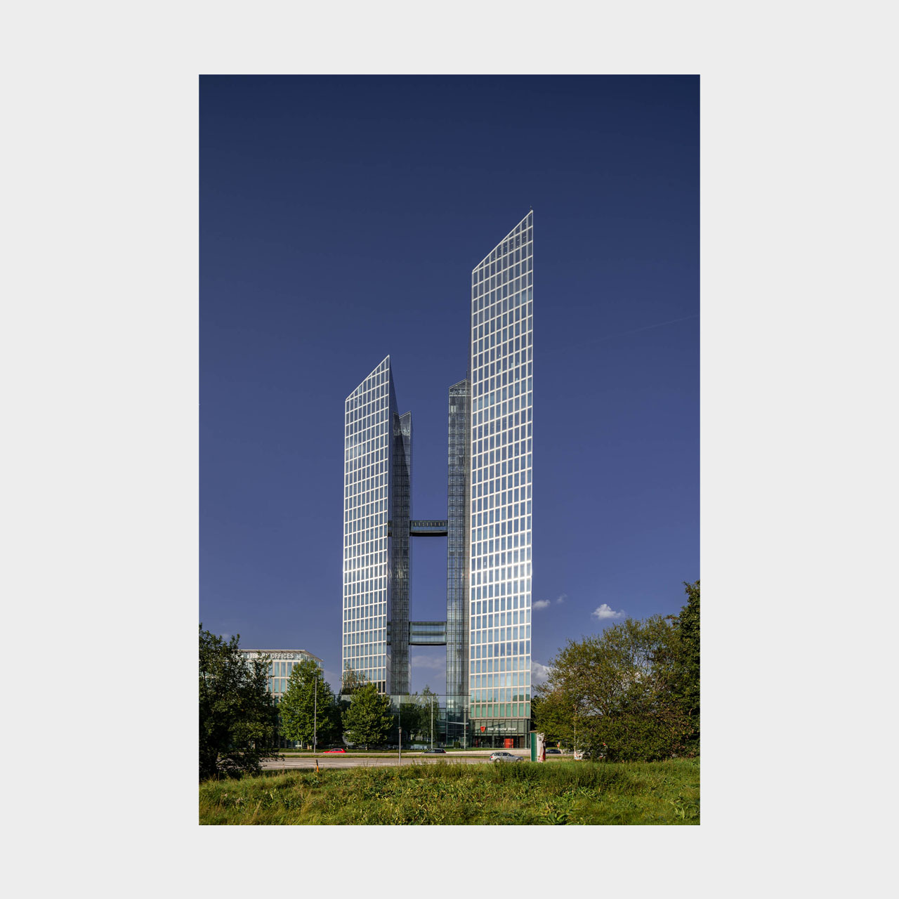 Architekturfotografie Highlight Towers München