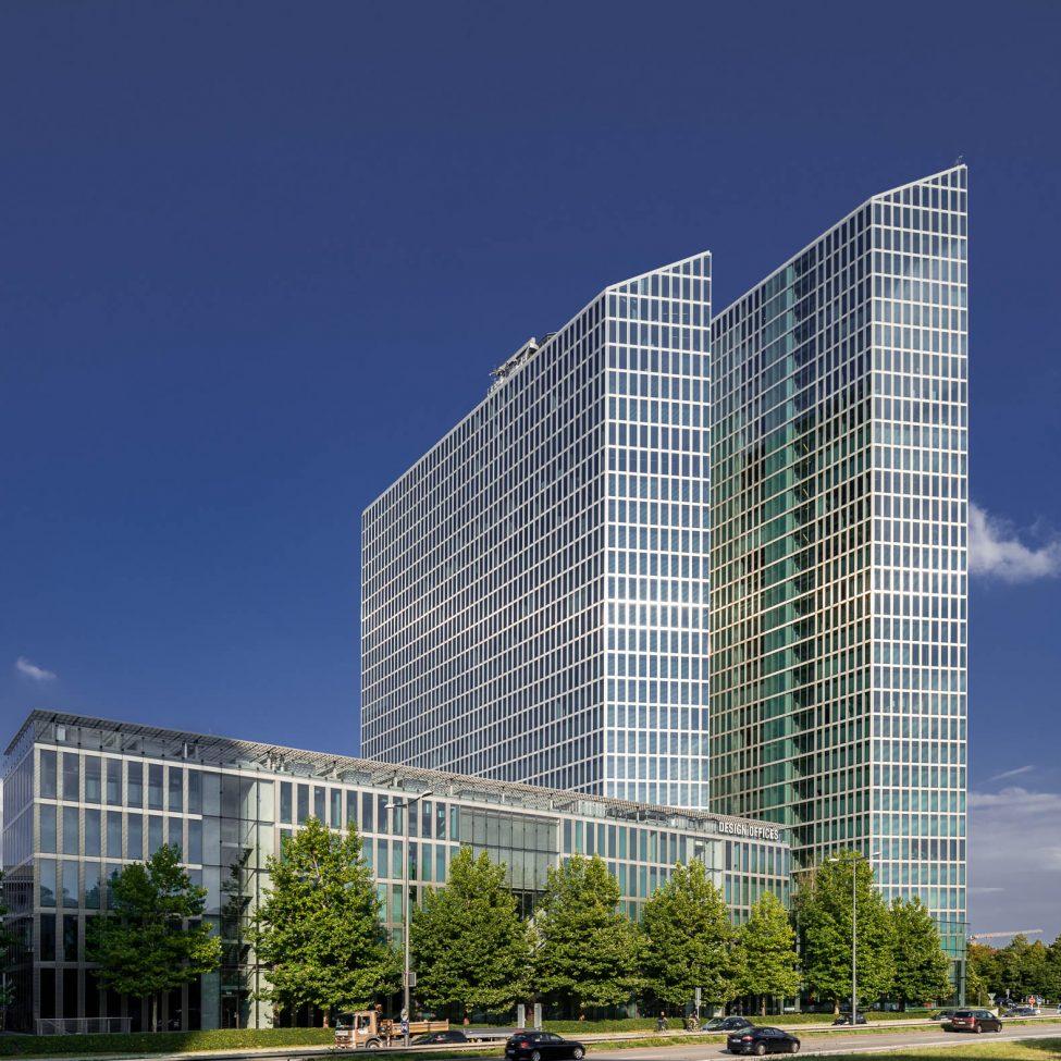 Architekturfotografie Highlight Towers München