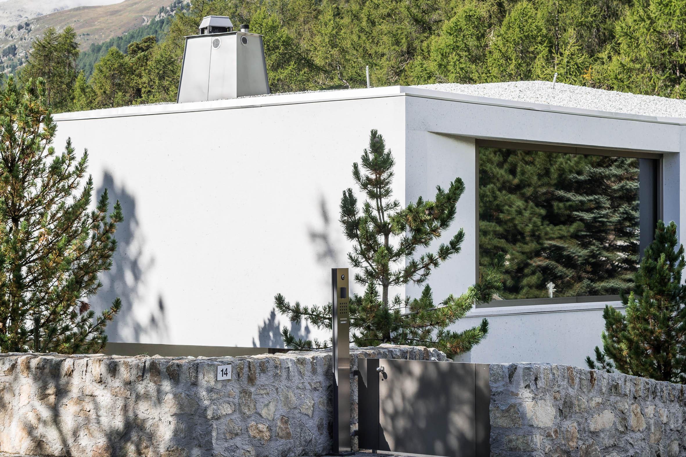 Architekturfotografie Haus Chasellas Sankt Moritz