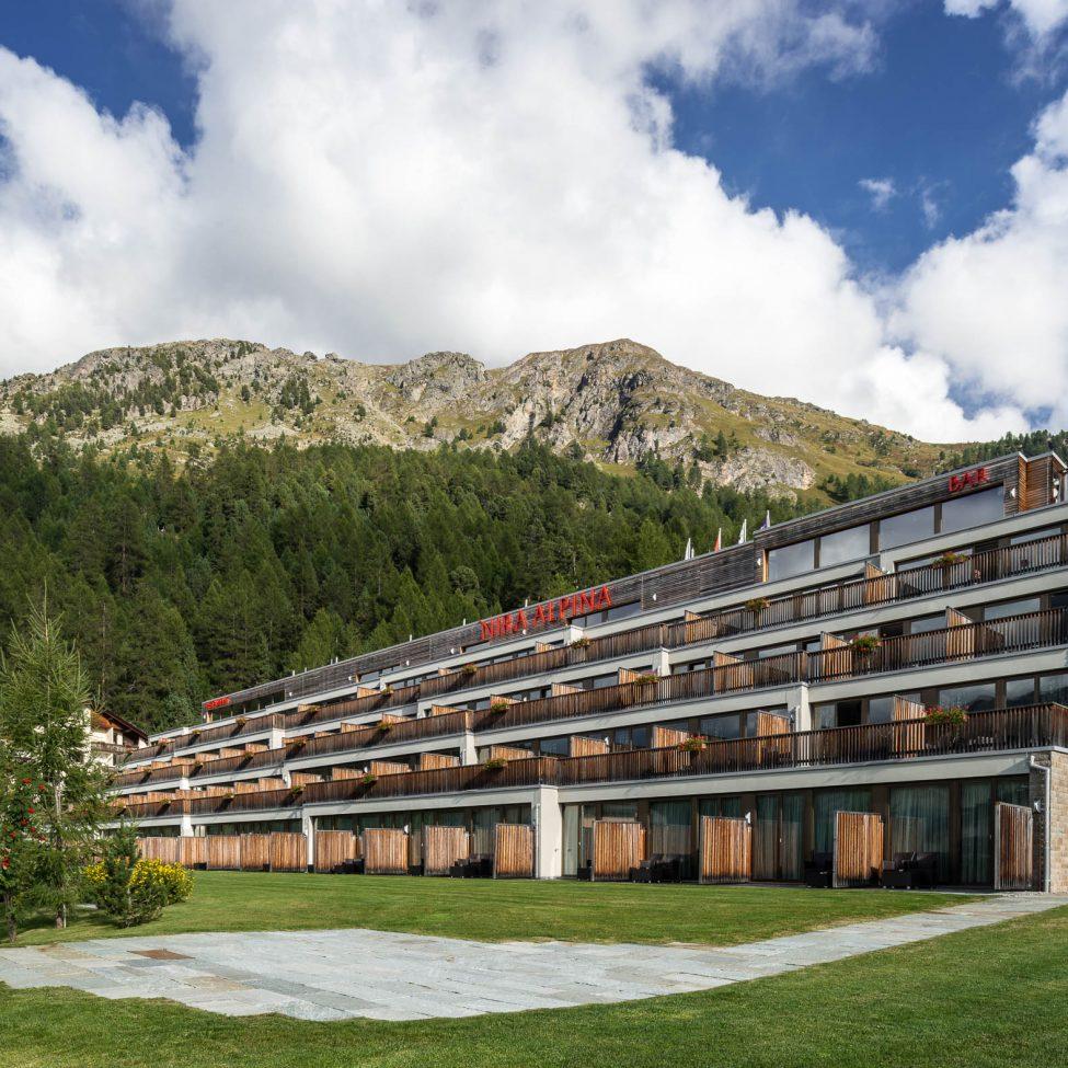 Architekturfotografie Design-Hotel Nira Alpina Silvaplana