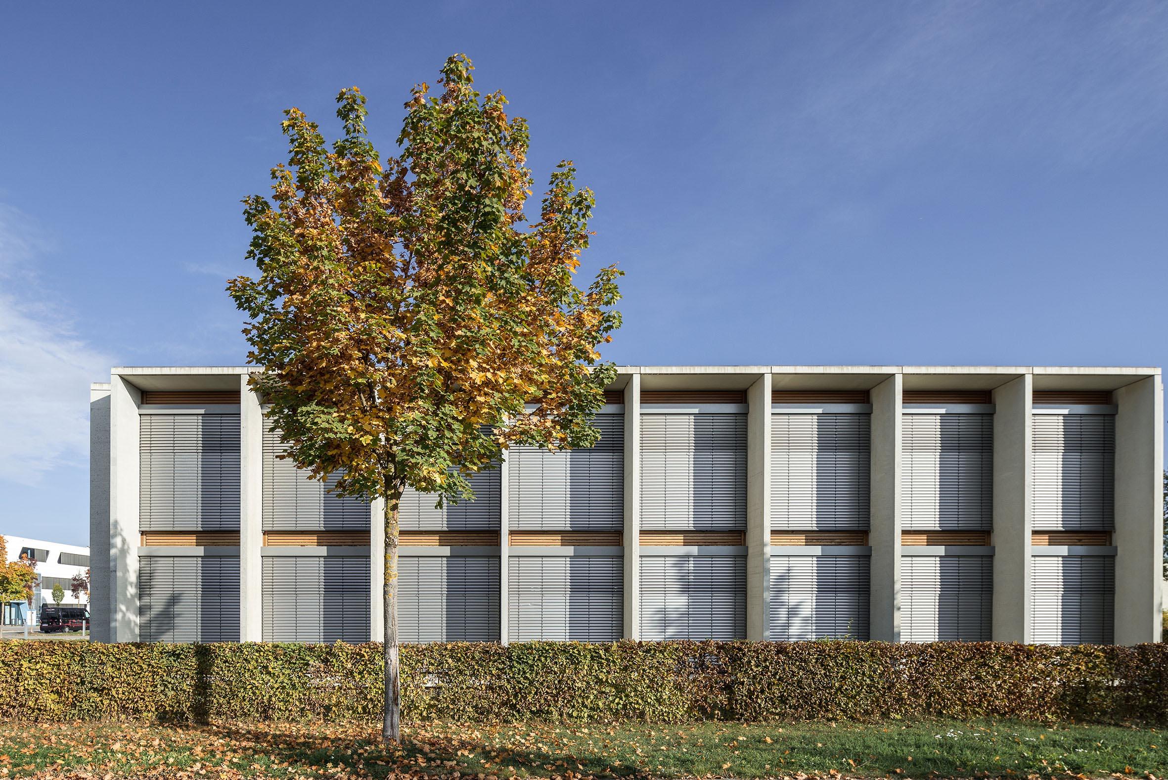 Architekturfotografie Bürogebäude Lindner Augsburg