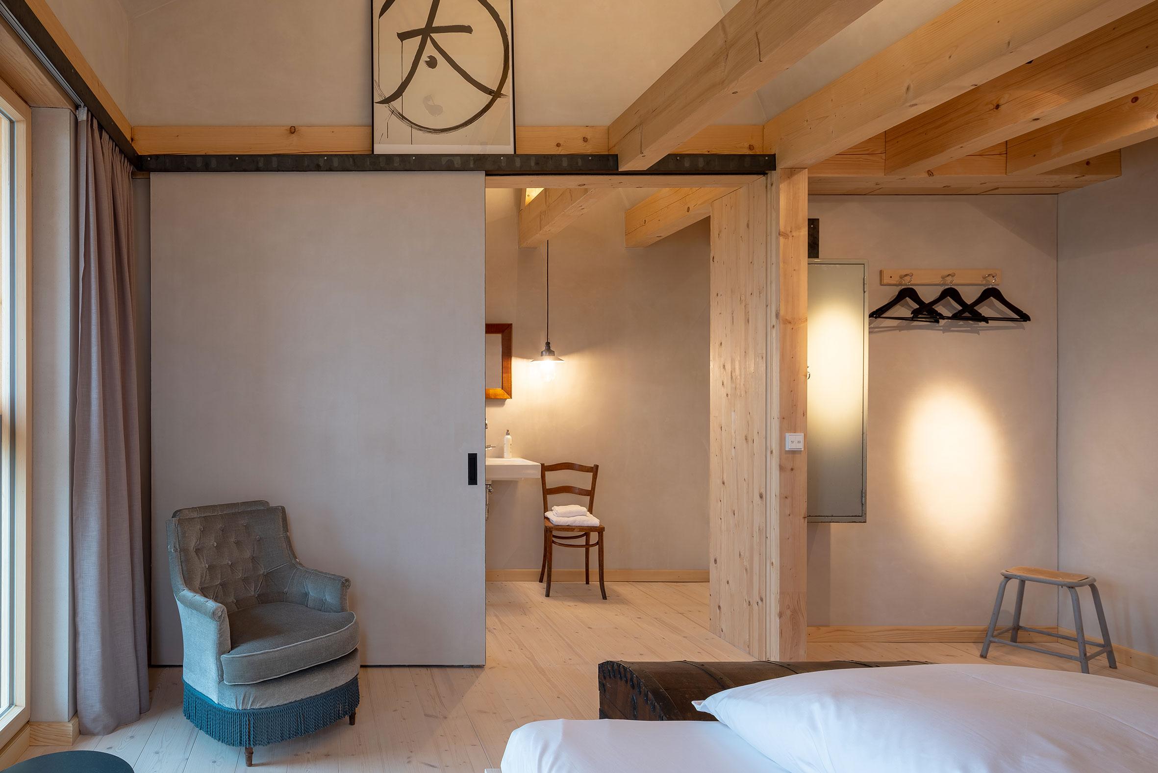 Architekturfotografie Bauernhaus Hotel Gut Sonnenhausen Glonn