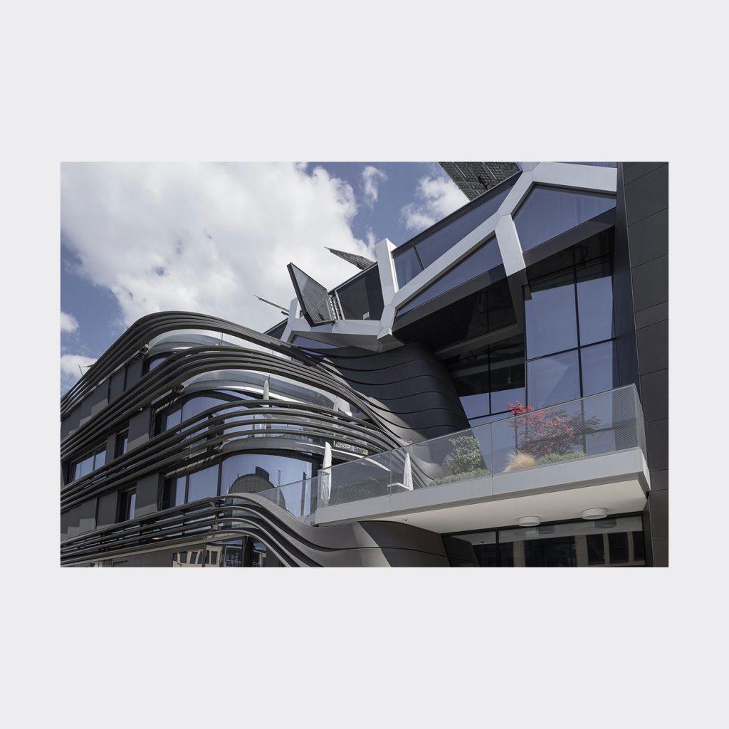 Architekturfotografie Active Energy Building Vaduz. Foto: Gerd Schaller / BAUWERK PERSPEKTIVEN