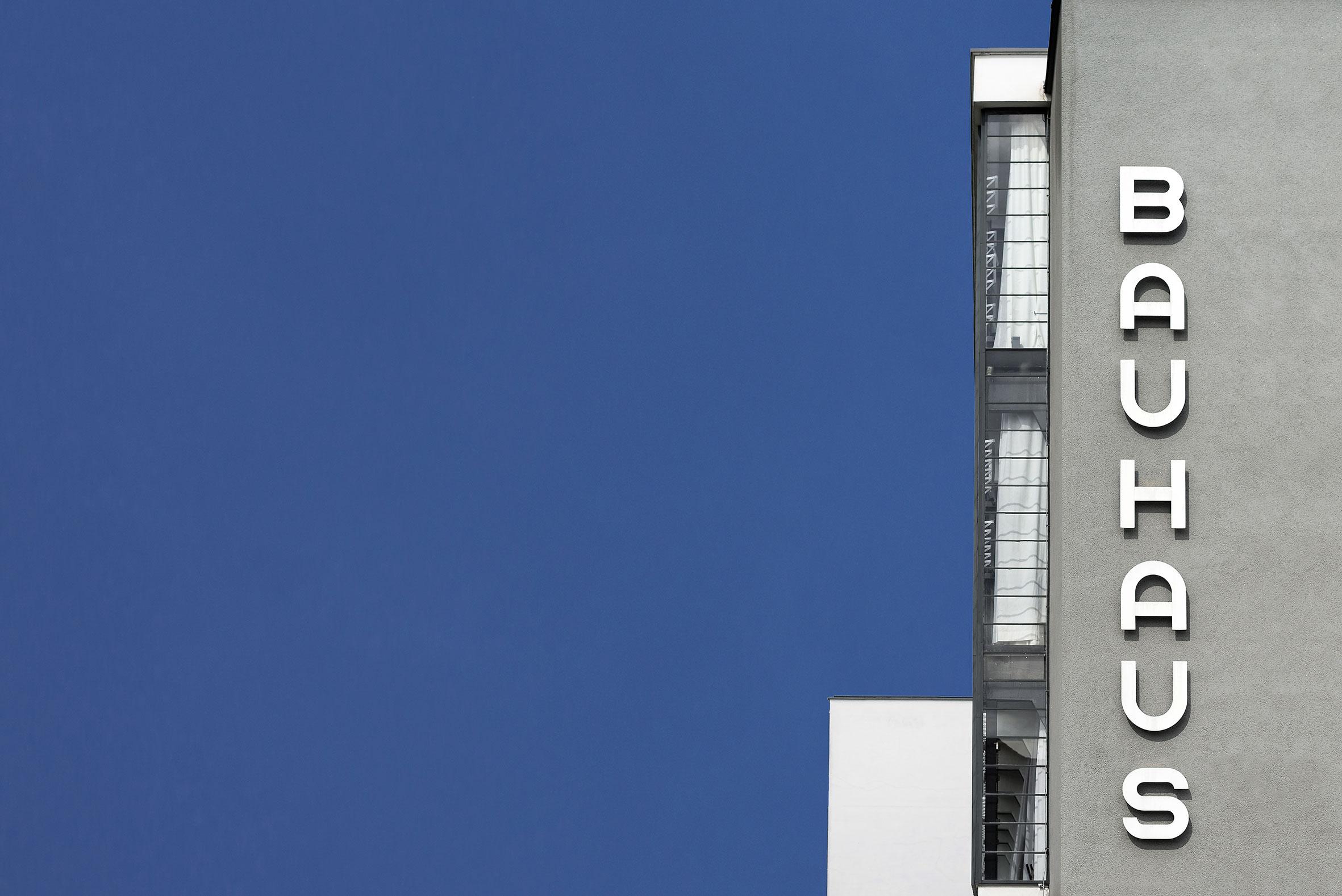 Architekturfotografie BAUHAUS Dessau. Foto: Gerd Schaller / BAUWERK PERSPEKTIVEN