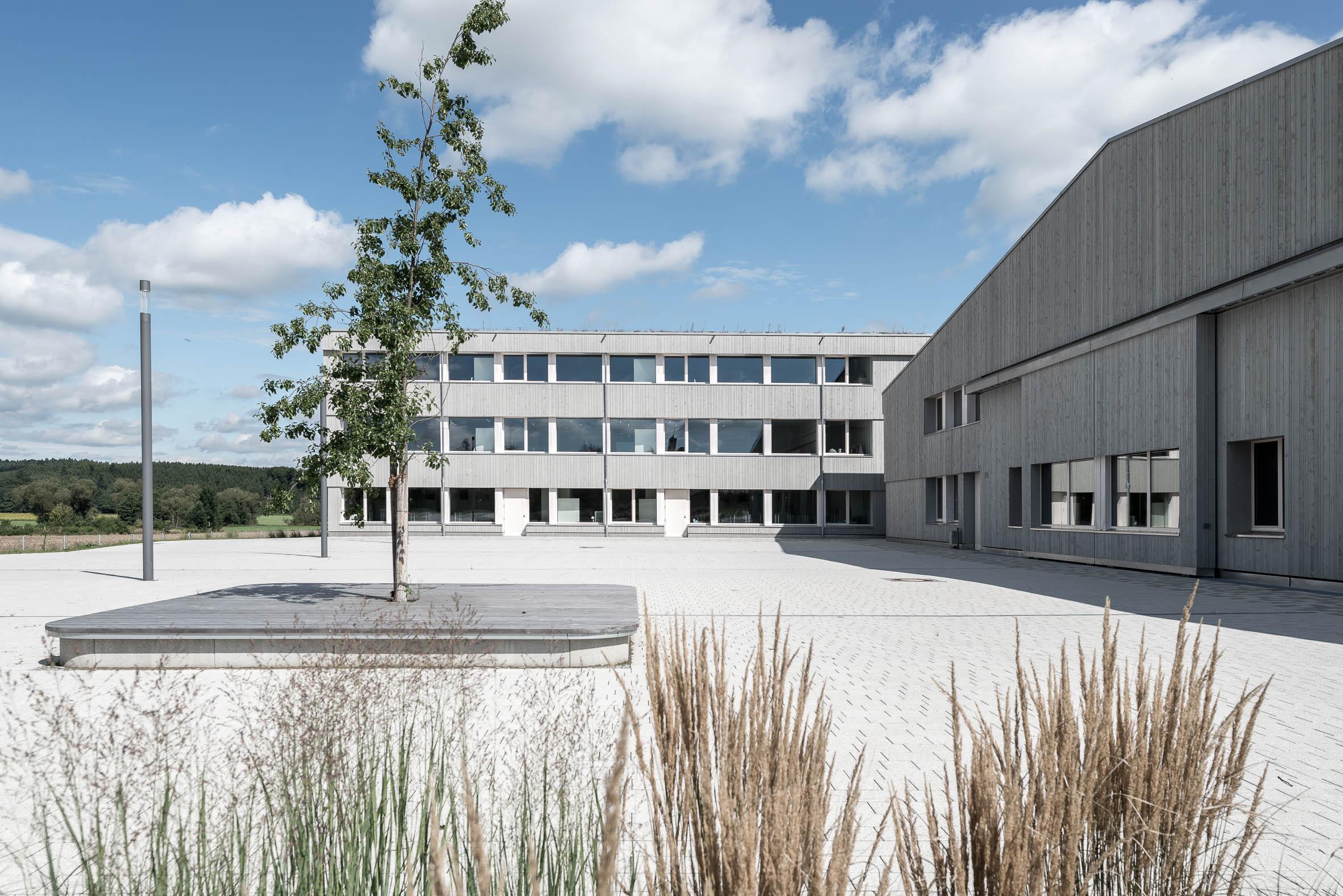 Architekturfotografie Schmuttertal Gymnasium Diedorf | Gerd Schaller | BAUWERK PERSPEKTIVEN