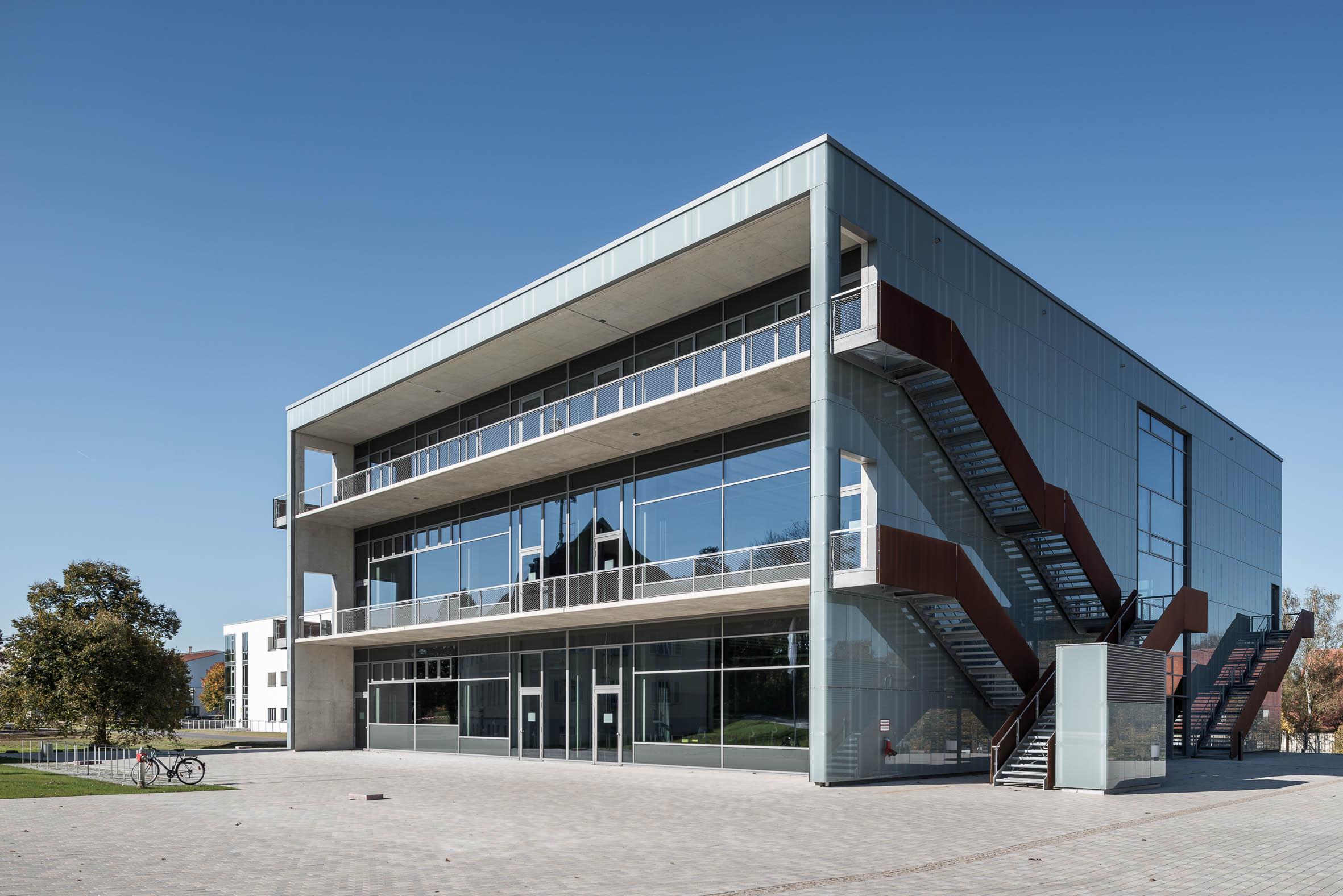 Architekturfotografie Hochschule Weihenstephan Freising | Gerd Schaller | BAUWERK PERSPEKTIVEN
