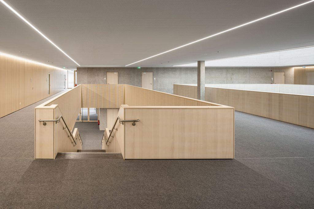 Architekturfotografie Schulzentrum Odelzhausen   Gerd Schaller   BAUWERK PERSPEKTIVEN