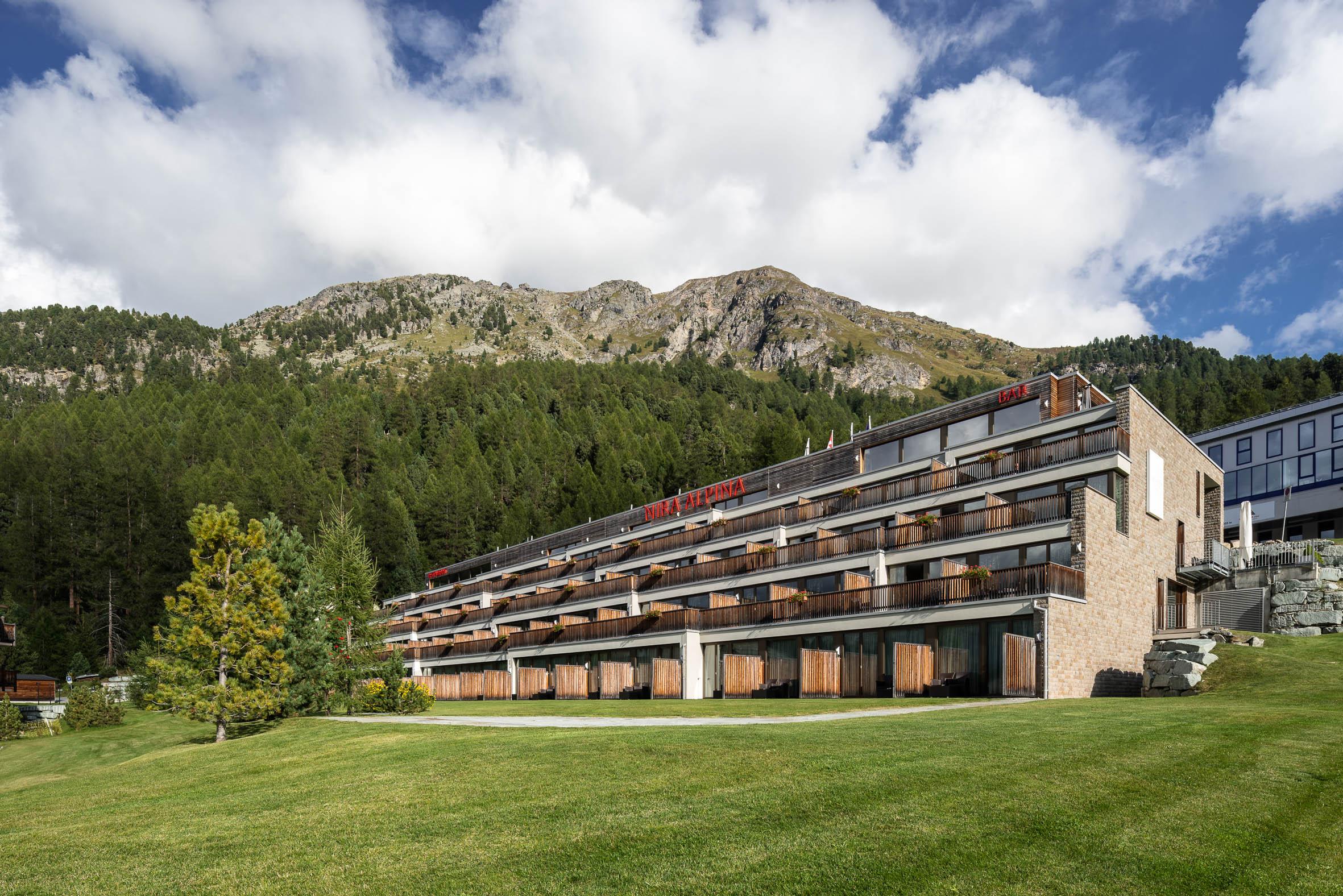 Architekturfotografie Hotel Nira Alpina Silvaplana | Gerd Schaller | BAUWERK PERSPEKTIVEN