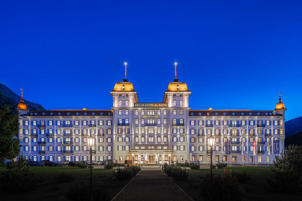 Architekturfotografie Grand Hotel Kempinski Sankt Moritz   Gerd Schaller   BAUWERK PERSPEKTIVEN