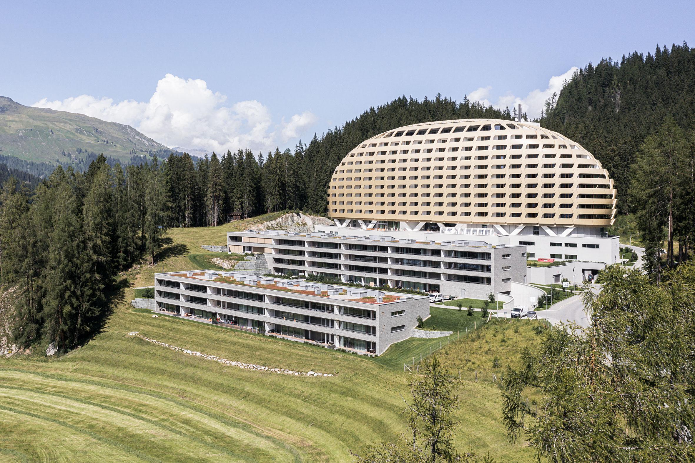 Architekturfotografie Hotel Intercontinental Davos   Gerd Schaller   BAUWERK PERSPEKTIVEN